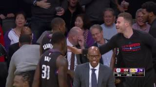 Jamal Crawford Half Court Buzzer Beater! | Clippers vs Lakers | March 21, 2017 NBA Regular Season