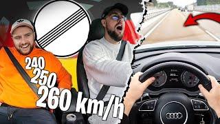 On teste la vitesse max du RSQ3 sur Autobahn Allemande avec Doc Jazy !