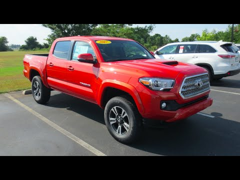 Tacoma Sr5 Vs Trd >> 2017 Toyota Tacoma TRD Sport 4X4 Full Tour & Start-up at Massey Toyota - YouTube
