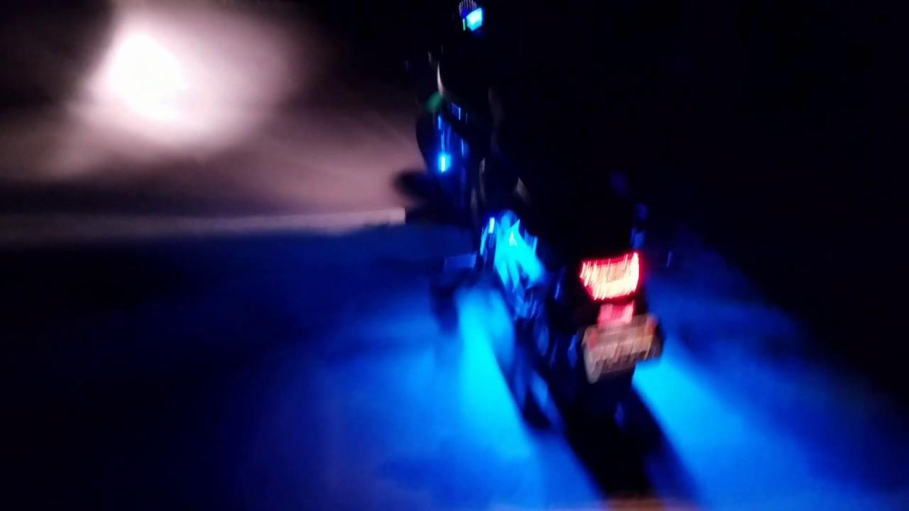 Kawasaki Vulcan S With Led Lights