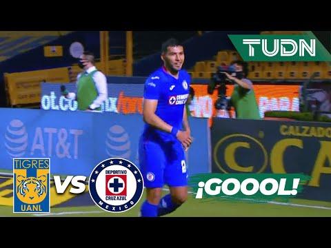¡GOLAZO! ¡Qué trallazo de Escobar! | Tigres 0-1 Cruz Azul | Guard1anes 2020 Liga BBVA MX | TUDN