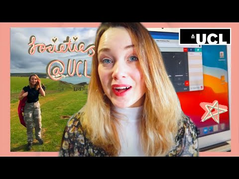 Getting Involved in Societies at UCL - Why you should + my experience