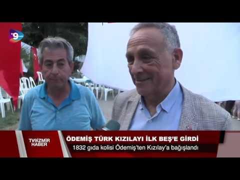 Ödemiş Türk Kızılayı, yurt genelinde ilk beşte