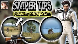 Most OP Sniping Tips You Can Know In Just 3 Minutes!!! Rules Of Survival Quick Tip: Elite Sniping✔️
