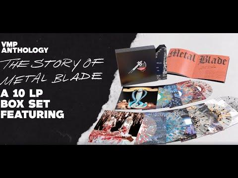 Metal Blade vinyl 'VMP Anthology: The Story of Metal Blade' Omen/Gwar/King Diamond and more!