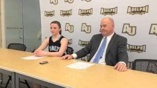 WBKB - Postgame Interview NCAA East Region Quarterfinals