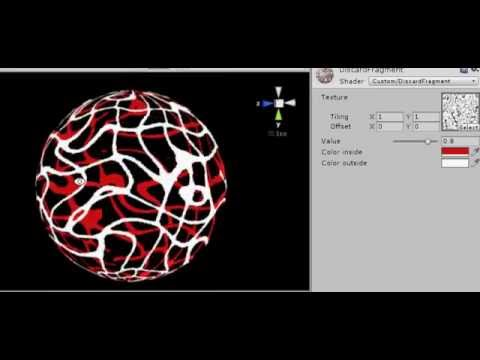 Unity shader : Discard fragments with texture (multi pass)