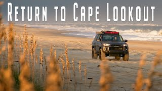 Return to Cape Looĸout | Beach Camping
