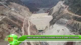 Türkiye'nin ikinci büyüğü Silvan Barajı'nda iki yıl içinde su tutulacak