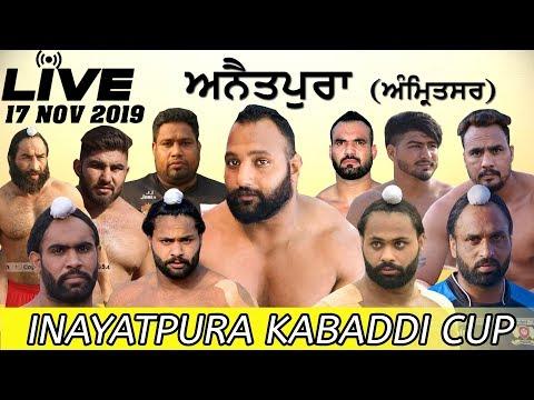 LIVE 🔴 ANAITPURA (Amritsar) KABADDI CUP- [17-Nov-2019] 🔴 LIVE STREAMED VIDEO
