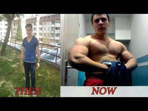 2 year natural body transformation - FROM SKINNY TO MUSCLE (FULL STORY) - PBM