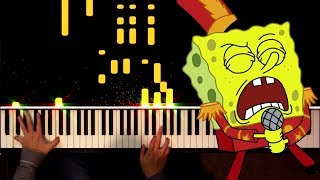 Spongebob: Sweet Victory (Piano Solo)