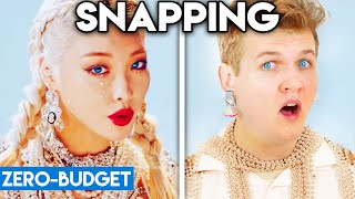 K-POP WITH ZERO BUDGET! (CHUNG HA - Snapping)