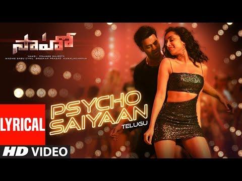 Download Lagu  Psycho Saiyaan al - Saaho Telugu| Prabhas, Shraddha K| Tanishk Bagchi,Dhvani Bhanushali,Anirudh Mp3 Free