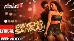 Psycho Saiyaan Lyrical - Saaho Telugu| Prabhas, Shraddha K| Tanishk Bagchi,Dhvani Bhanushali,Anirudh