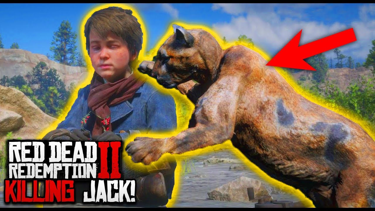 RED DEAD REDEMPTION 2 FUNNY MOMENTS 😂 - What Happens If You Kill Jack Marston ☠️! (RDR2 Gameplay)