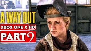 A WAY OUT Gameplay Walkthrough Part 9 [1080p HD Xbox One X] - No Commentary