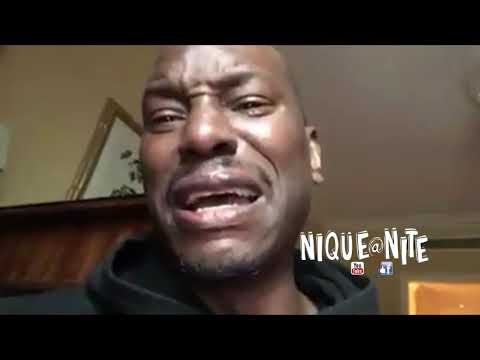 Tyrese Breaks down Crying on Live Full Video!!! Cries about The rock & his daughter custody
