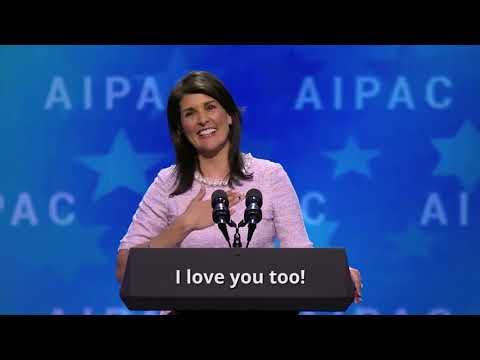 Nikki Haley Wows pro-Israel Lobby AIPAC