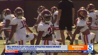 College Athletes Could Be Paid After California Assembly Bill Passes
