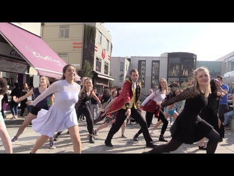 The Greatest Showman Proposal Flash Mob Dance UK
