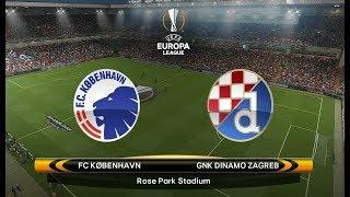 PES 2018 Europa League Cup Match 5 - Dinamo Zagreb vs FC Kobenhavn