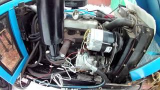 видео Технические характеристики генератора КАМАЗ, ремонт и схема подключения