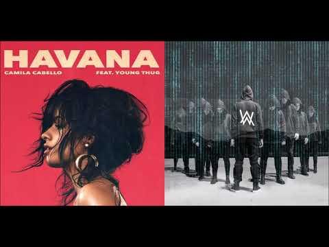 Alone In Havana - Alan Walker vs Camila Cabello (Mashup)