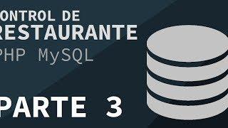 Restaurante MySQL PHP - Parte 3 Login