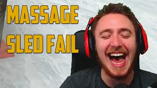 Massage Sled Fail! (garry's Mod: Sled Build)