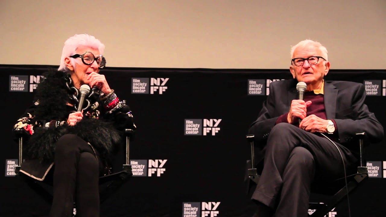 "NYFF52: ""Iris"" Q&A | Albert Maysles & Iris Apfel"