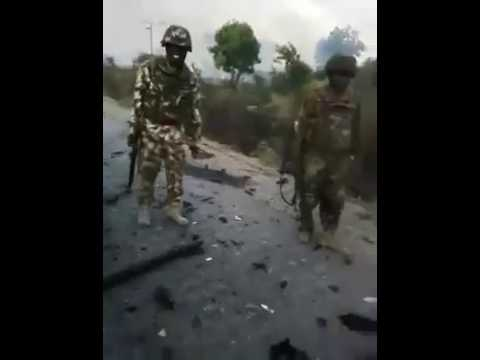 Nigerian army confronte with boko haram
