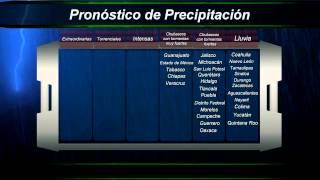 14 de mayo de 2014 Pronóstico del Tiempo