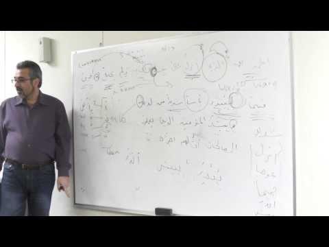 Arabic Vocabulary Class Lesson # 9