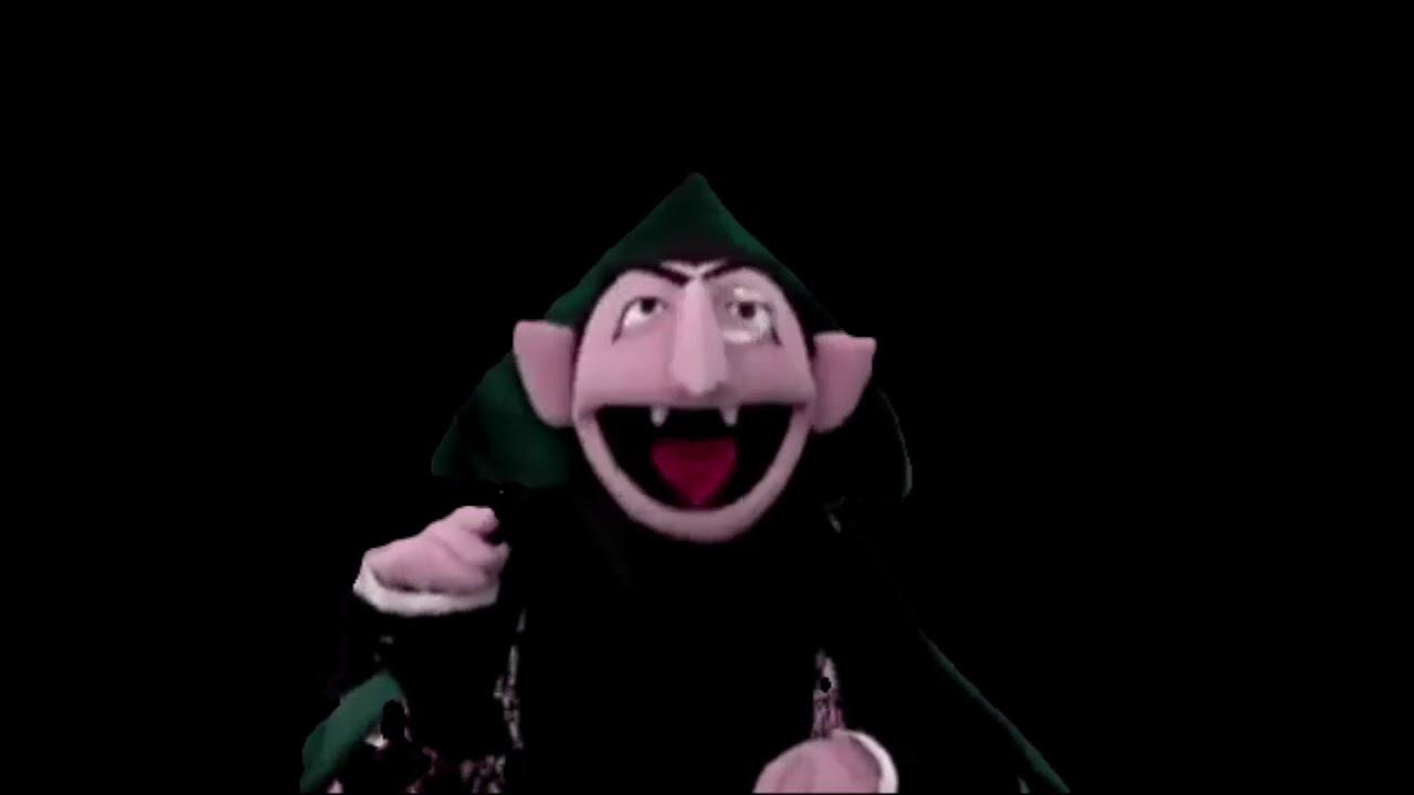 Sesame Street Count Von Count Hopping Challenge