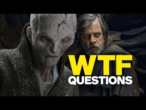 Download Youtube: Star Wars: The Last Jedi's 6 Biggest WTF Questions