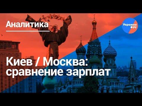 Где выше зарплата: Москва или Киев?