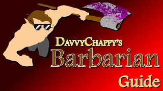 Davvy's D&D 5e Barbarian Guide