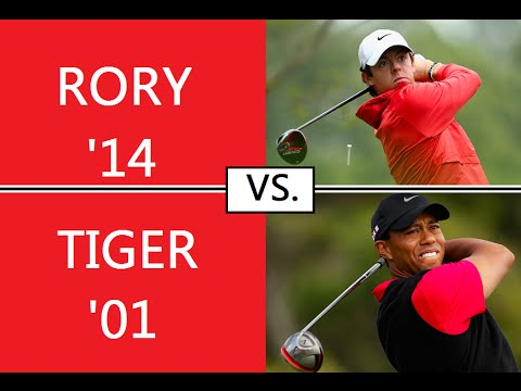 Rory McIlroy 2014 vs. Tiger Woods 2001