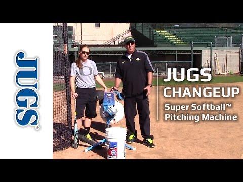 Changeup Super Softball Pitching Machine – Short   JUGS Sports