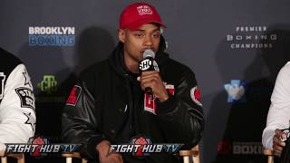 ERROL SPENCE PUTS DANNY GARCIA & KEITH THURMAN ON BLAST FOR DUCKING HIM