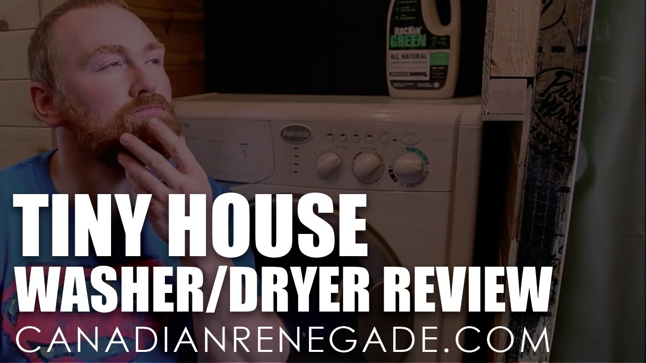 Splendide 2100XC   Best Washer/Dryer For A Tiny House?   Full Review
