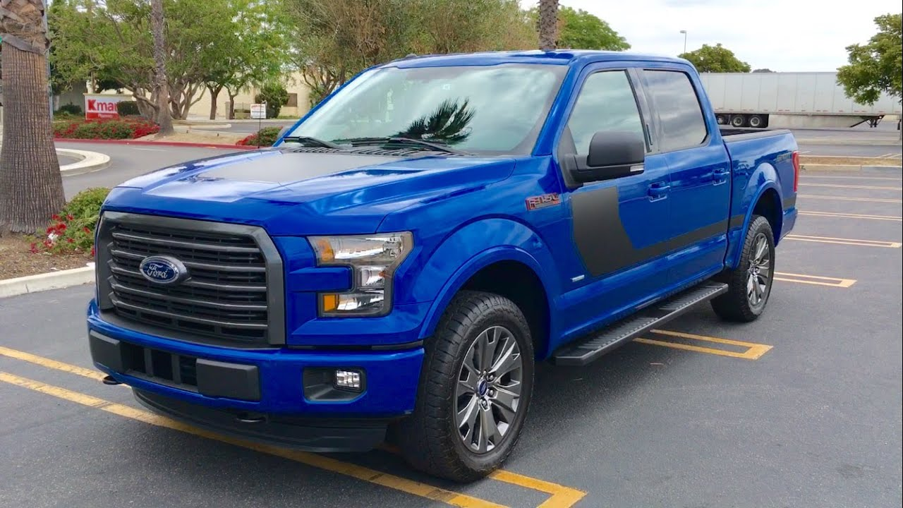 2016 ford f 150 xlt sport walkaround youtube. Black Bedroom Furniture Sets. Home Design Ideas