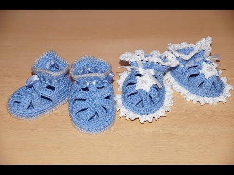 Пинетки для новорожденных крючком. Мастер-класс.
