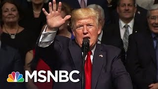 Donald Trump Goes From Escalator To Under Investigation In Two Years | The 11th Hour | MSNBC