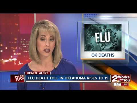 Number of Oklahoma flu deaths rises to 11