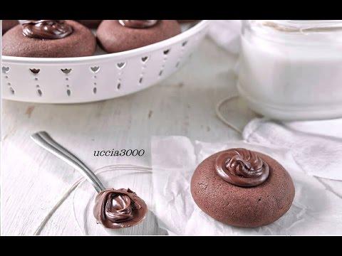 Ricetta Nutella Uccia3000.Nutellotti Fatti In Casa 3 Ingredienti Nutella Truffles Cookies Youtube