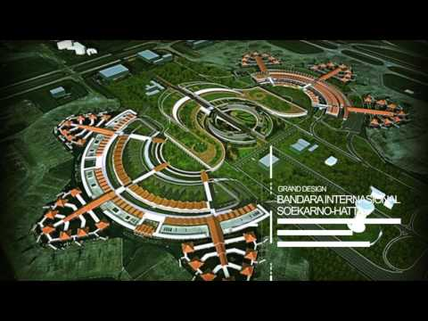 Soekarno-Hatta International Airport 3D Design Masterplan