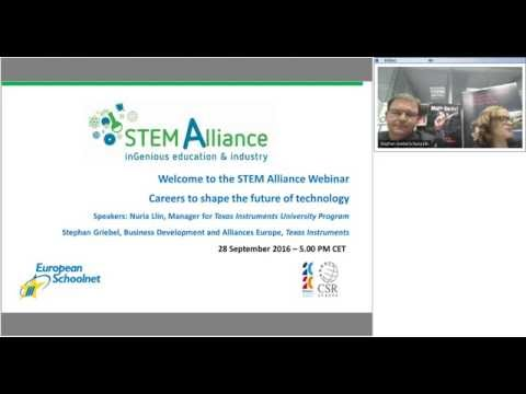 STEM Alliance Webinar: Careers to shape the future of technology