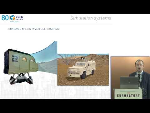 ECA Group - Eurosatory 2016: Simulation systems for improved military vehicle training